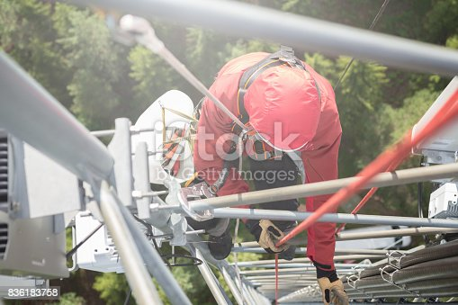 istock Working at height 836183758