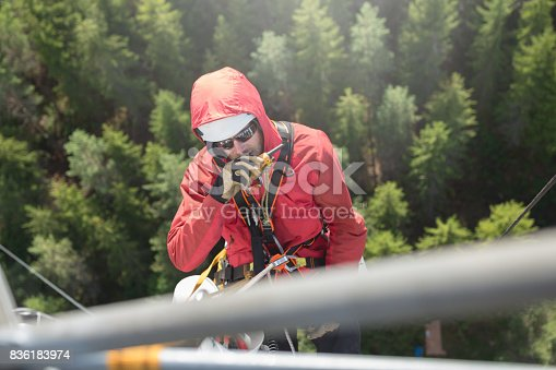 istock Working at height 836183974