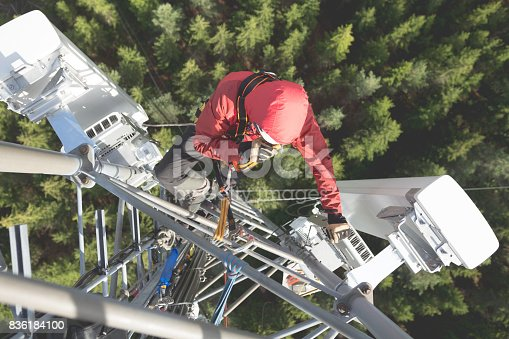 istock Working at height 836184100