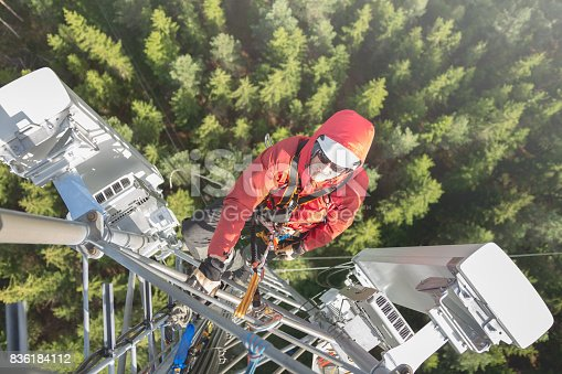 istock Working at height 836184112