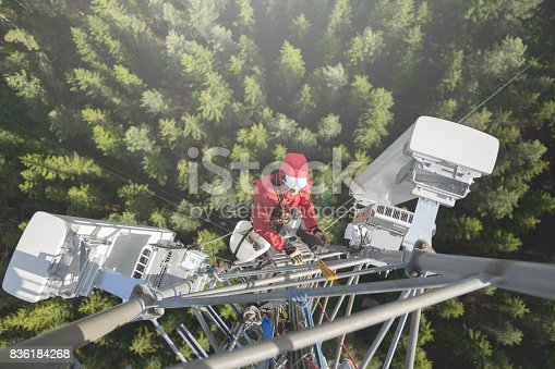 istock Working at height 836184268