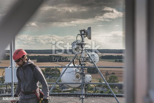 istock Working at height 836200872