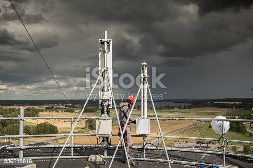 istock Working at height 836216616