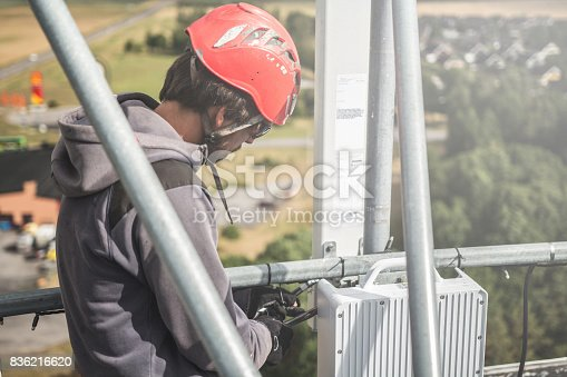 istock Working at height 836216620