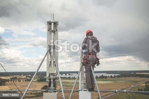 istock Working at height 836216650