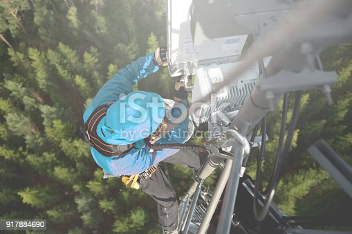 istock Working at height 917884690