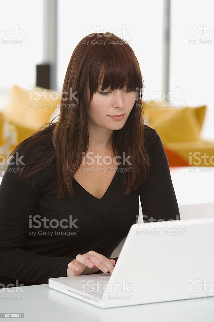 Working At Home 14 royalty-free stock photo