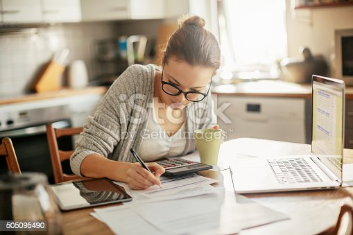istock Working at home 505095490