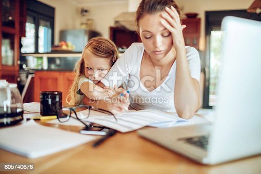 istock Working at home 605740676