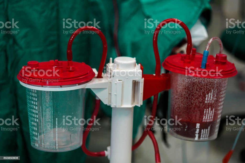 Working Autotransfusion System stock photo