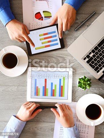 istock Working business people 641548724