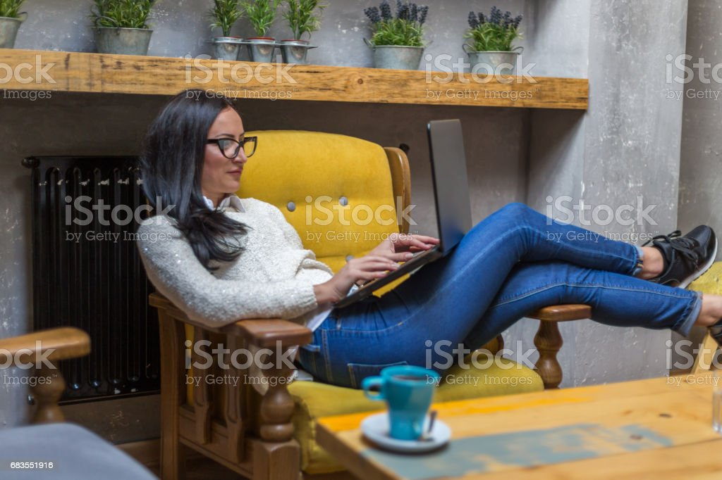 Working can be enjoyment stock photo