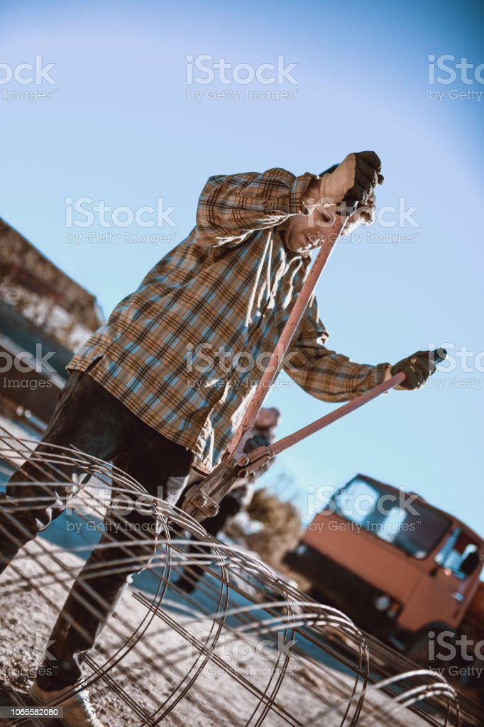 Working Class Hipster stock photo