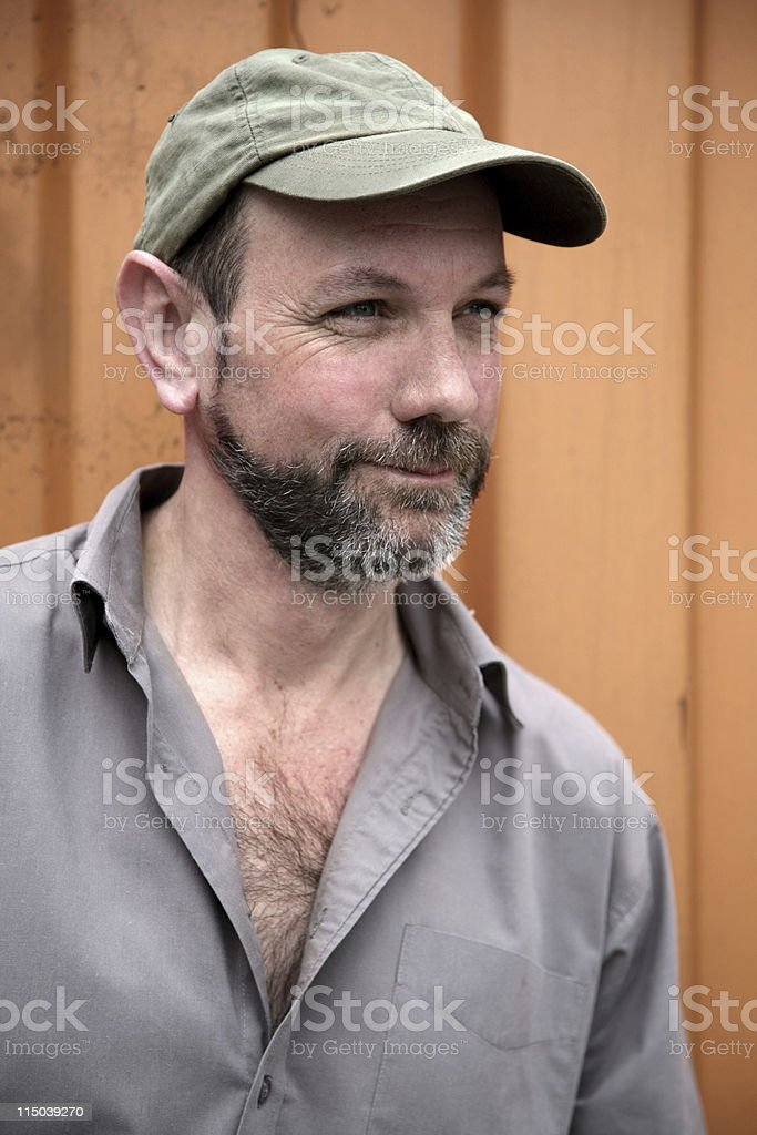 Working class man royalty-free stock photo