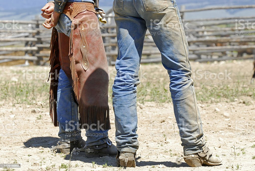 Working Cowboys royalty-free stock photo