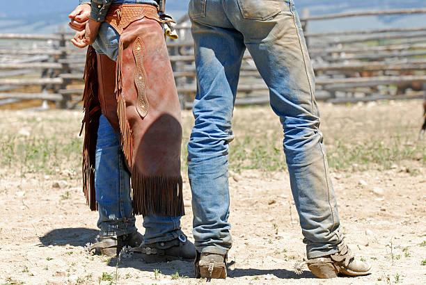 Working Cowboys stock photo