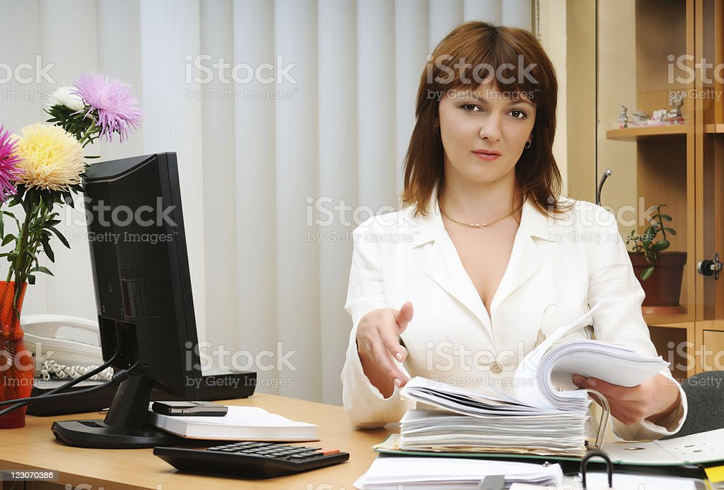 Working day royalty-free stock photo