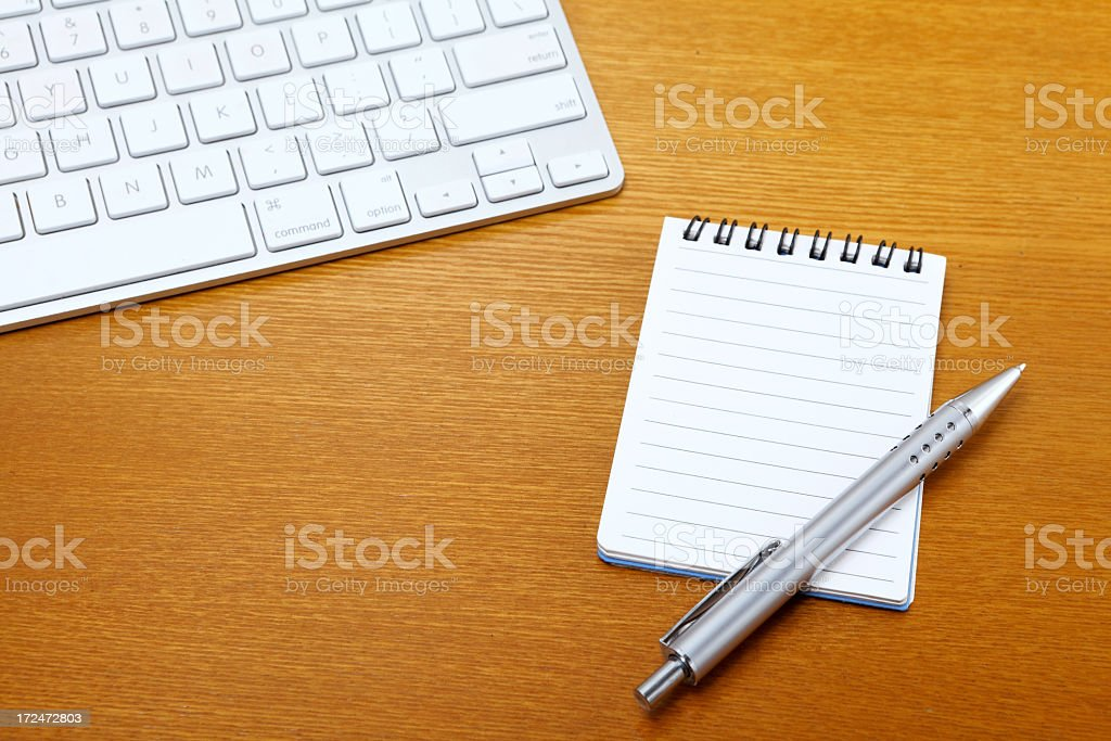 Working desk royalty-free stock photo