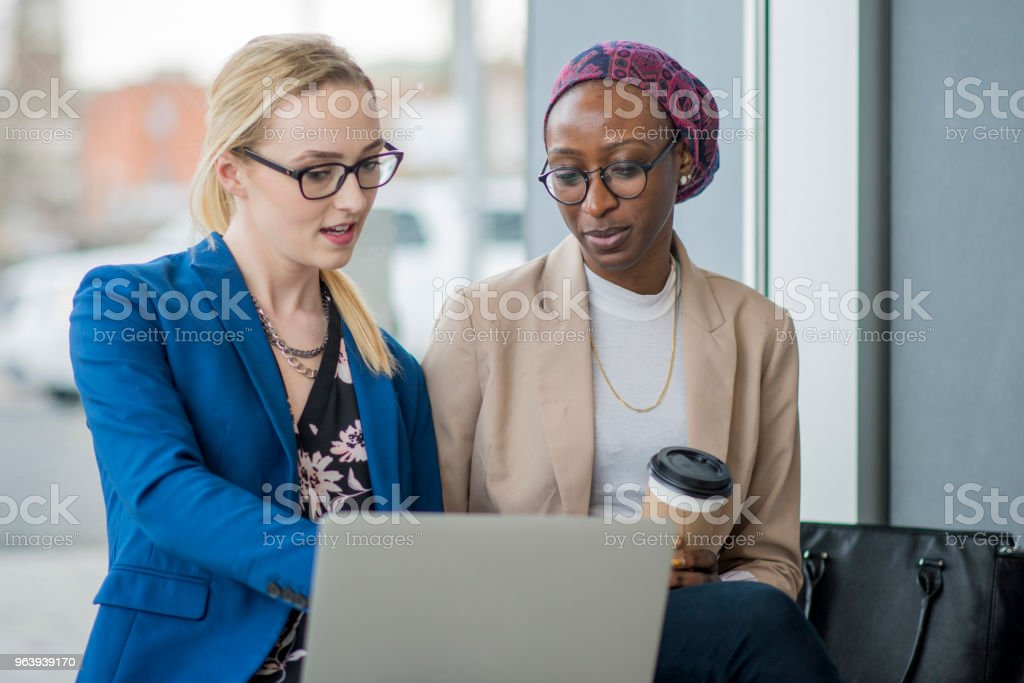 Working Downtown - Royalty-free 20-29 Years Stock Photo