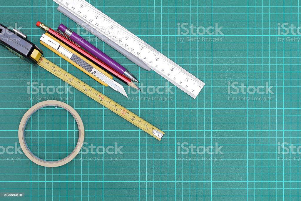 Working equipment stock photo