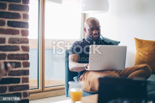 istock Working from home 531917308