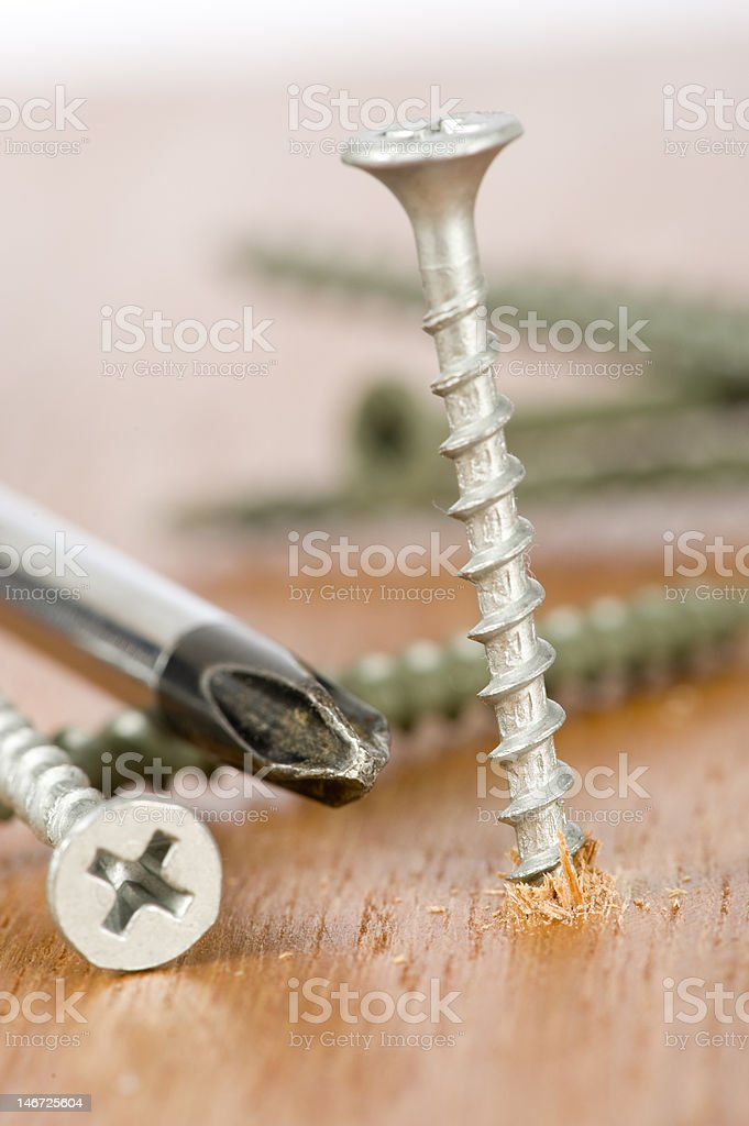 Working Hands and tools royalty-free stock photo