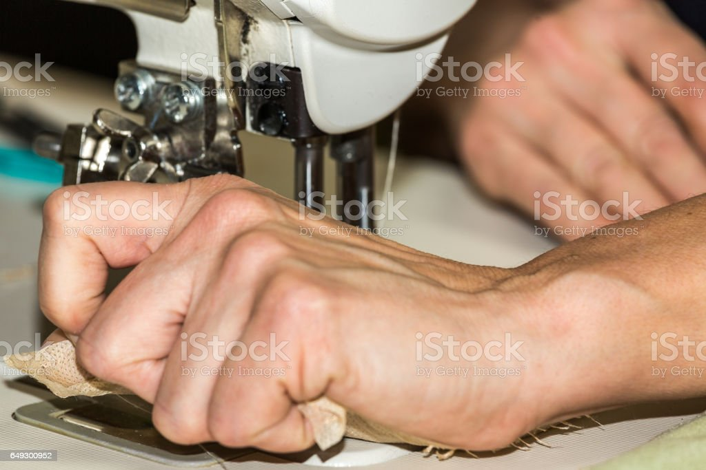 Working hands royalty-free stock photo