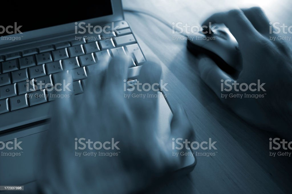 working hands series royalty-free stock photo