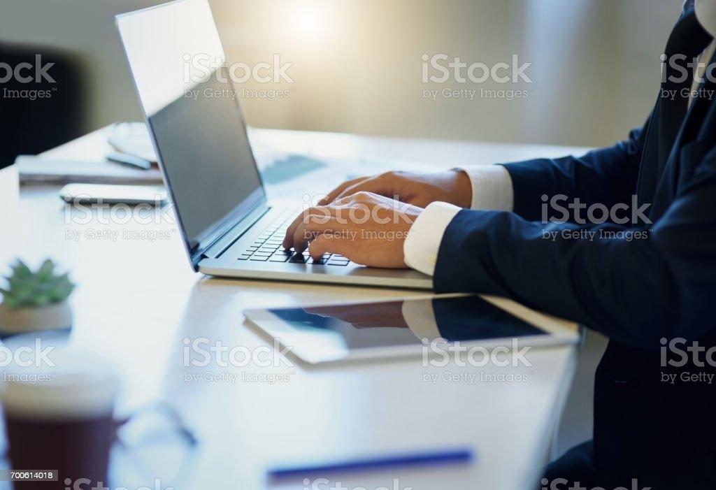 Working hard and working smart stock photo