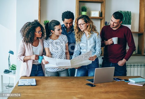 istock Working hard for successful business 1136002524
