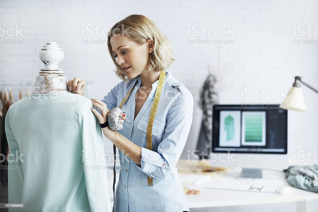 Working hard to reach the top stock photo