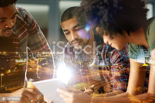 istock Working harder, working smarter 621978454