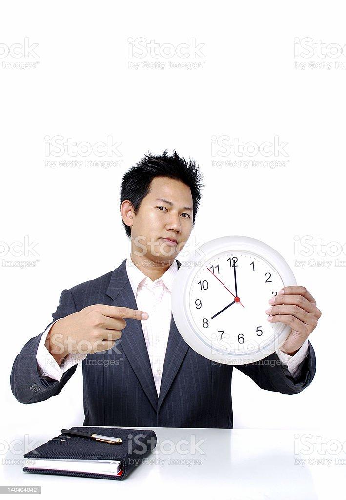 Working hour stock photo