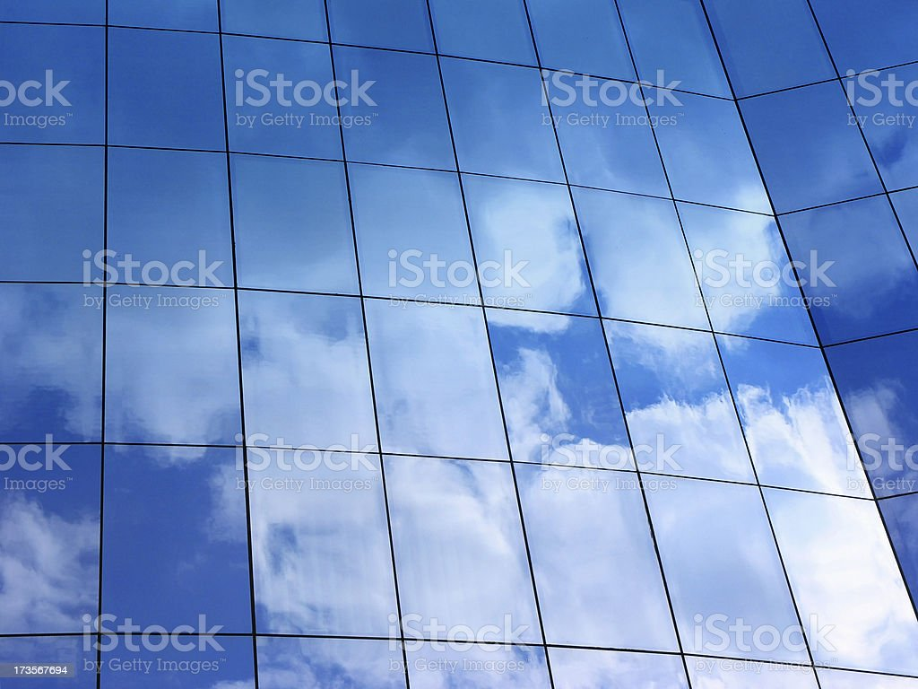 Working in heaven royalty-free stock photo