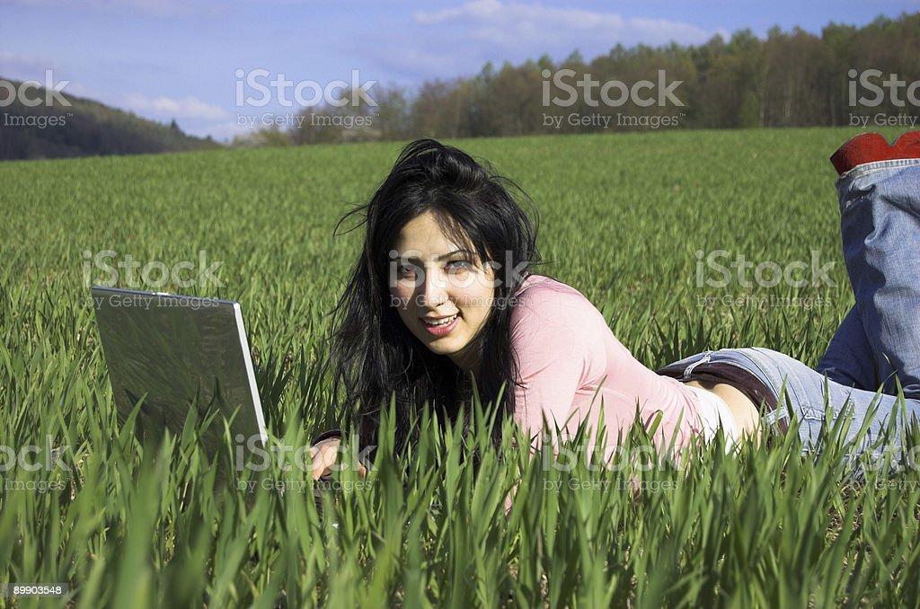 Работа в природе Стоковые фото Стоковая фотография