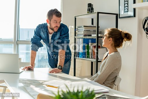 511979840 istock photo Working in office 507140232