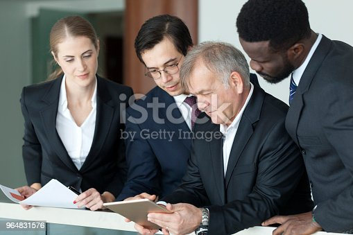 istock Working in perfect sync 964831576