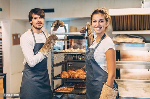 istock Working in the bakery 628093158