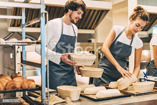 628876250 istock photo Working in the bakery 636032032