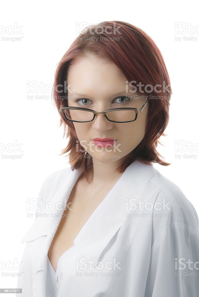 working in the health institution royalty-free stock photo