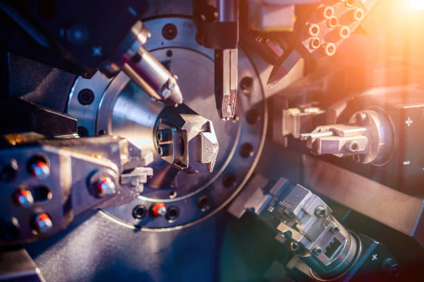 Arbeitsbereich Maschine CNC – Foto