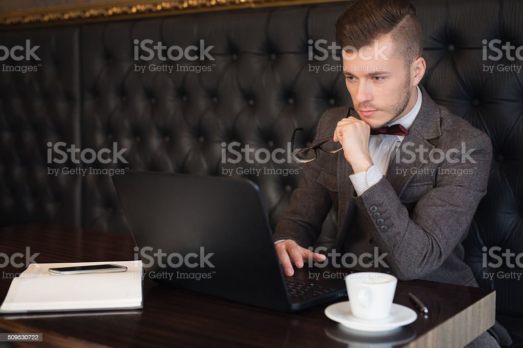 Working Man stock photo