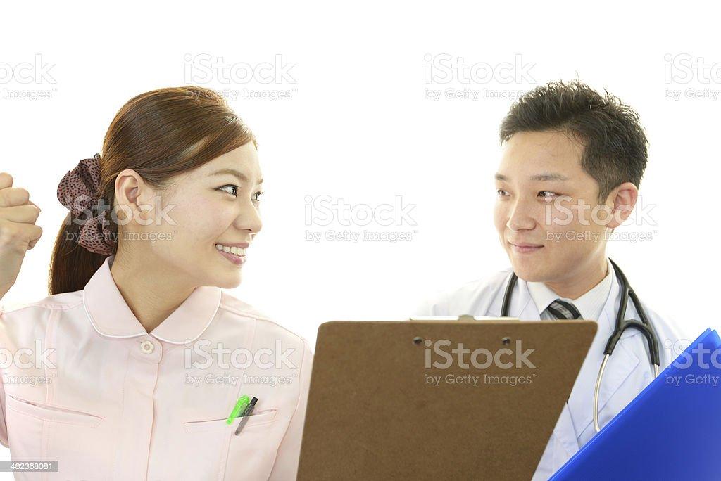 医療スタッフが - カッコいいのロイヤリティフリーストックフォト