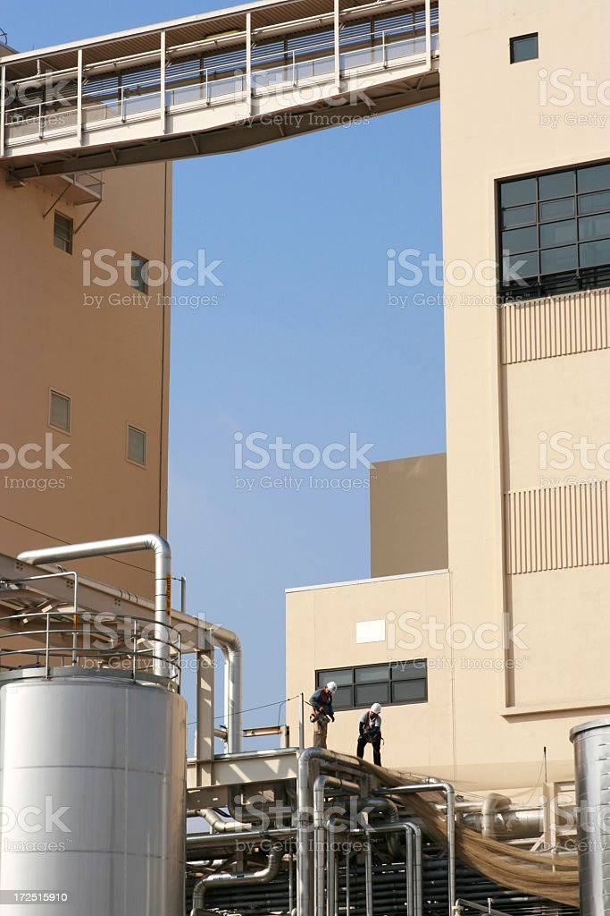 Working Men royalty-free stock photo
