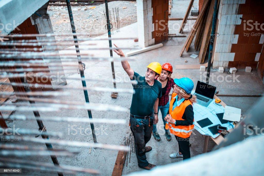 Arbeiten auf Baustelle – Foto