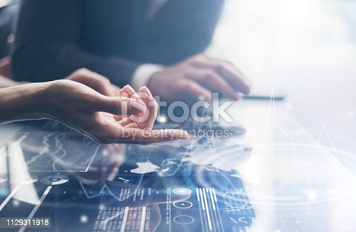 istock working on project 1129311918