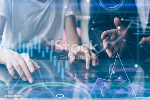 istock working on project 1129311920
