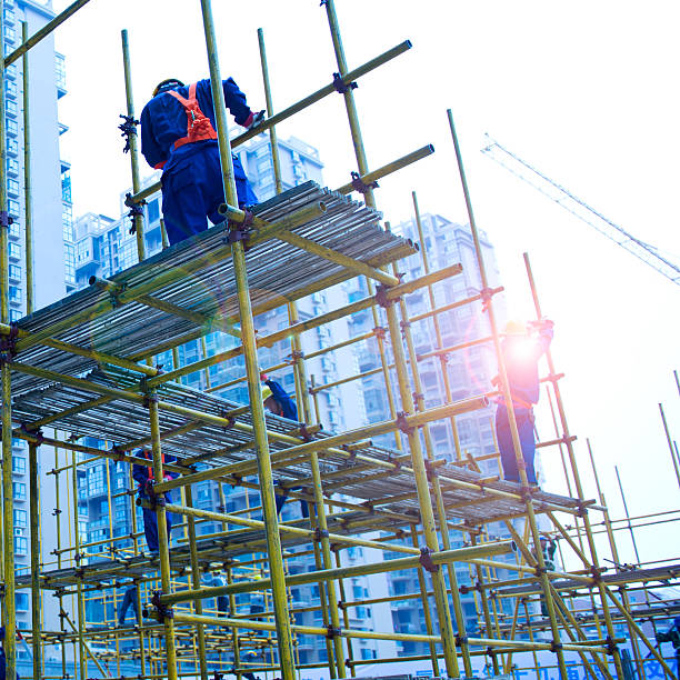 Top 60 Scaffolding Stock Photos Pictures And Images Istock