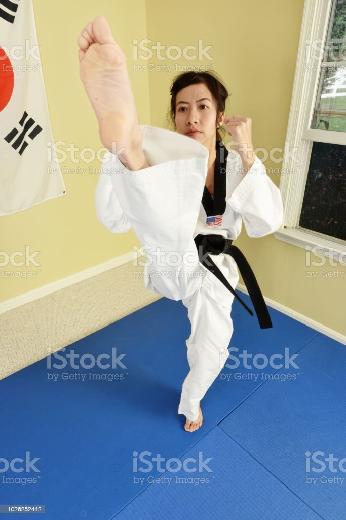 Working on the Mat stock photo