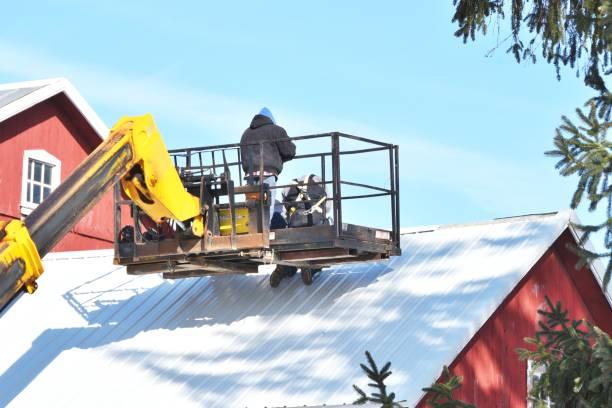 Arbeiten auf dem Dach – Foto